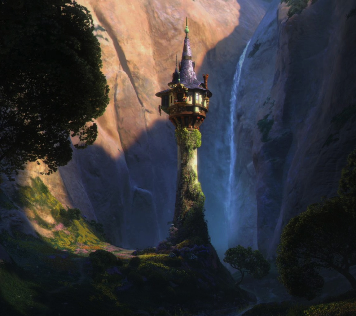 Alone is not an invitation the annotated zoetrope - Tangled tower wallpaper ...